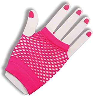 Forum Novelties womens Fishnet Fingerles Gloves