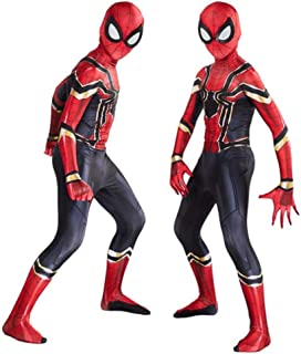 AM ANNA The Spider-Verse Kids Bodysuit Spiderman Superhero Costumes Halloween Cosplay Costumes