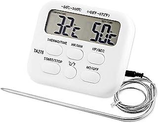 YIDAINLINE 1PCS Thermomètre de Cuisine Numérique à Lecture Instantanée pour Barbecue, Cuisson au four - Thermomètre de Cui...