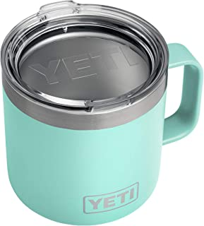 YETI Rambler 14 oz Stainless Steel Vacuum Insulated Mug with Lid