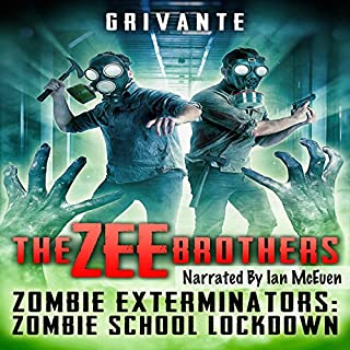 The Zee Brothers: Zombie School Lockdown cover art