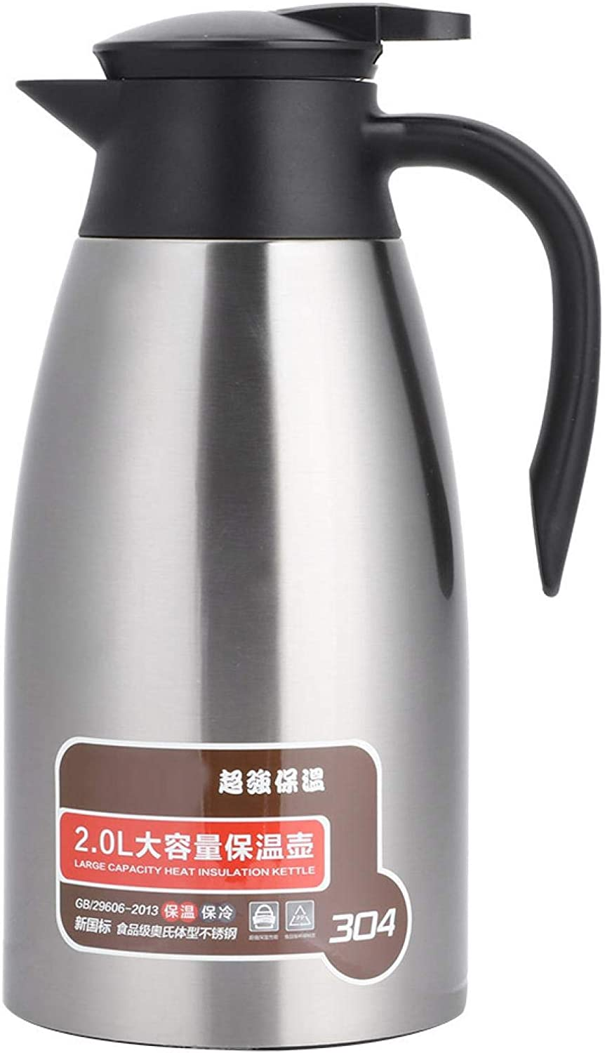 4 years warranty Vacuum Insulation Pot 2L Double Wall Jug Insulated Dispe 2021 autumn and winter new Tea for