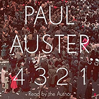 4 3 2 1                   By:                                                                                                                                 Paul Auster                               Narrated by:                                                                                                                                 Paul Auster                      Length: 36 hrs and 53 mins     364 ratings     Overall 4.2