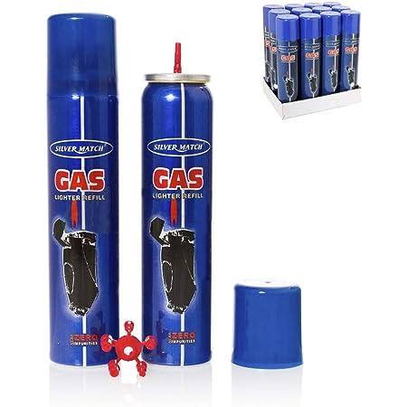 Polyflame 90904 Recarga de Gas para Mecheros, 300 ml, Color Unico