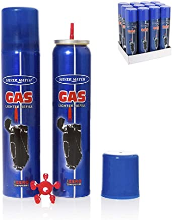 Recarga de gas para mecheros 300ml