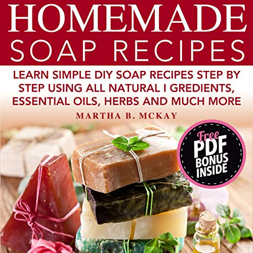 『Homemade Soap Recipes』のカバーアート