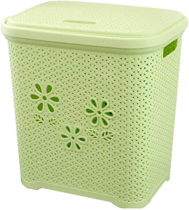 YQSHYP Plastic Laundry Classic Hamper Basket Nippon regular agency Rectangular Clothes Storag