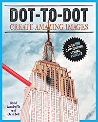 Image: Dot-to-Dot Create Amazing Images: Create over 180 visual puzzles | Paperback: 208 pages | by David Woodroffe (Author), Chris Bell (Author). Publisher: Chartwell Books; Act Csm edition (August 1, 2016)