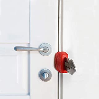 Portable Door Lock,Travel Lock,AirBNB Lock,Safety Lock for Travel,Hotel,Home,Apartment (1)