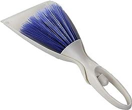 Dustpan and Soft Brush Set Hand Broom and Dustpan Set Mini Dustpan Brush Nesting Tiny Cleanning Whisk Broom Small(White) H...