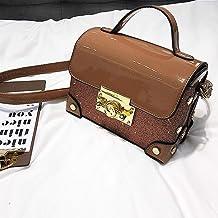JGWHW Women's Genuine Leather Everyday Purse Top Handle Handbags Shoulder Bags