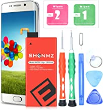 Galaxy S6 Edge Battery, SHENMZ 2800mAh EB-BG925ABE Li-Polymer Replacement Battery for Samsung Galaxy S6 Edge SM-G925 G925V G925T G925A G925P with Repair Replacement Kit Tools