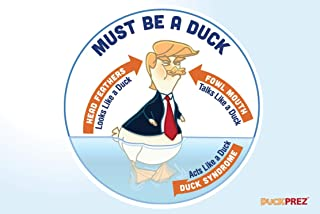 Trump postcards, Donald Trump (10 different post cards) Duck President parody, DuckPrez