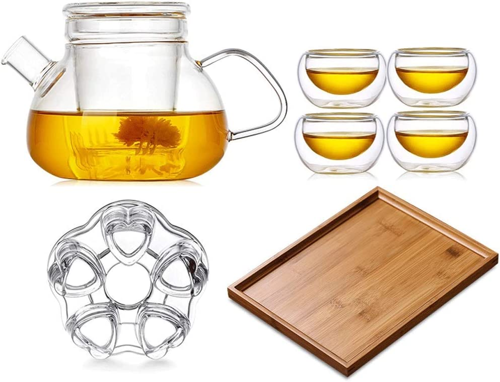 Dining 2021 new and entertainment Tableware Glass Cup [Alternative dealer] Tea Set Elegant Thi
