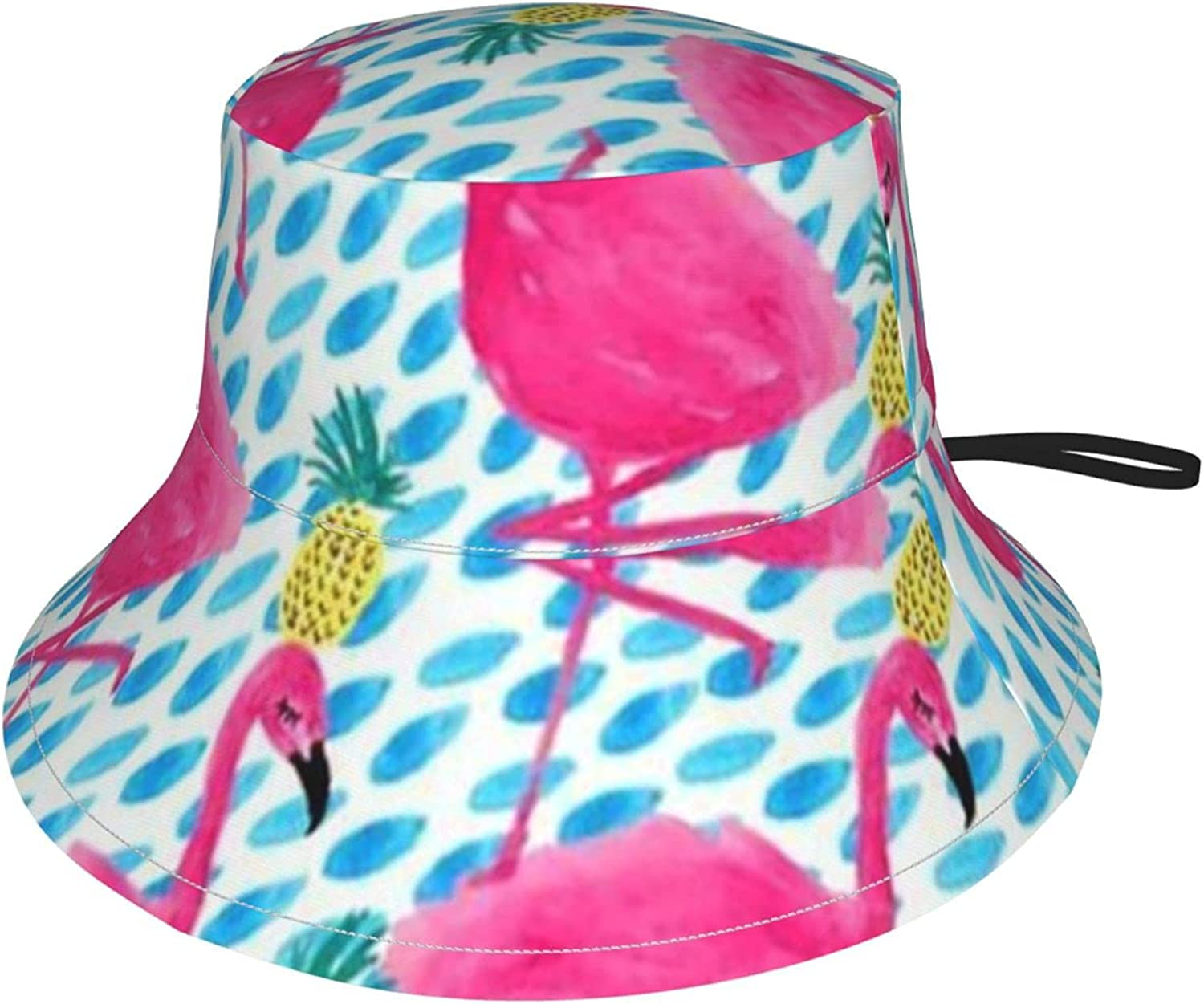 Flamingo Pineapple Quality inspection Kids Popular products Sun Suitable Bucket Breathable Hat