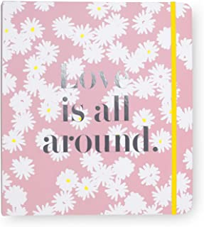 $38 » Kate Spade New York Blue Bridal Wedding Planner Binder, Personal Organizer for Bride with Pages for To-Do Lists, Notes, Bu...