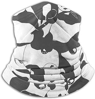 Hujingweijing9 Cute Panda Bear Headband Face Mask Bandana Head Wrap Scarf Neck Warmer Headwear Balaclava for Sports