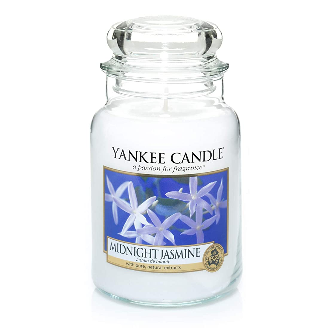 アレキサンダーグラハムベル動員する引き付けるYankee Candle Large Jar Candle, Midnight Jasmine by Yankee Candle