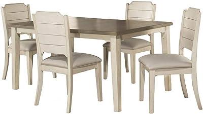 Amazon.com: Yaheetech Sillas de comedor de metal con asiento ...
