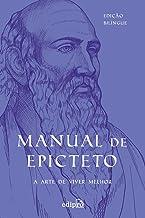 Manual de Epicteto: A arte de viver melhor: Edição Bilíngue com postal + marcador