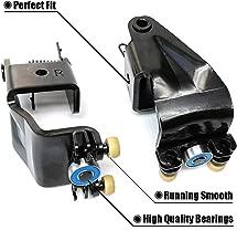 FEXON 1 Pair Power Sliding Door Roller Assembly Center Roller Right & Left Fit for 05 06 07 08 09 10 Honda Odyssey EX EX-L Touring model 924-128 72561-SHJ-A21 924-129 72521-SHJ-A21