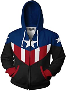 Best captain america casual jacket Reviews