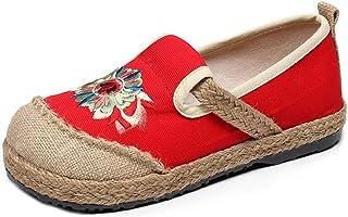 Damesschoenen, stoffen schoenen, vrouwen, canvas, meisjes, platte schoenen, slip-on schoenen, outdoor schoenen, maat 35-40