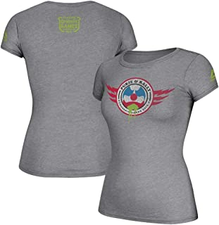 Reebok Women's 2016 Pukie & Rally Crossfit Games Grey T-Shirt
