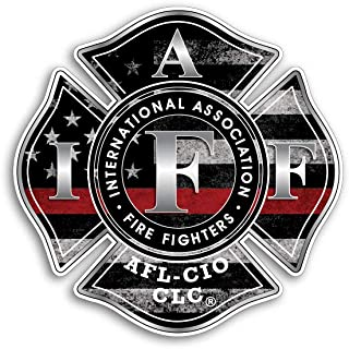 Best firefighter union stickers Reviews