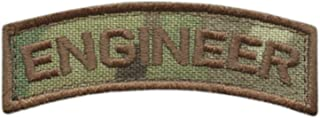 LEGEEON Engineer Shoulder Tab Badge Multicam OCP US Army Tactical Morale Hook&Loop Patch