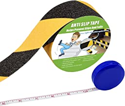 Anti Slip Tape, High Traction,Strong Grip Abrasive, Not Easy Leaving Adhesive Residue, Indoor & Outdoor, with Measuring Tape (2