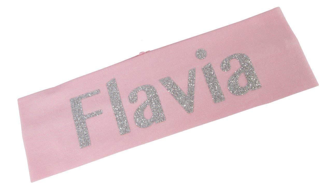 Glitter Personalized Finally Recommendation resale start Headband Customizable Colors Choose Bling