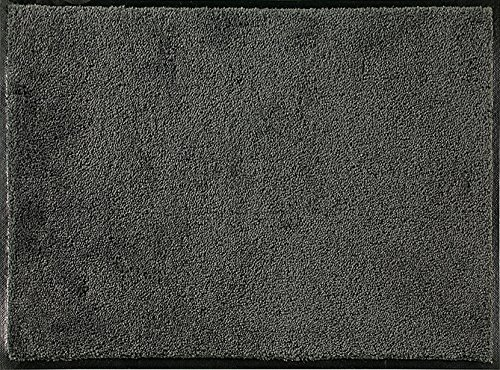 ID Mate c608002Confor Alfombra Felpudo Fibra Nylon/Caucho nitrilo Gris Oscuro, Gris, 90 x 140 cm
