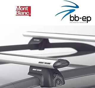 Mont Blanc Premium Aluminio Baca/Last portaequipajes para Citroen C4 Grand Picasso MPV con alcance