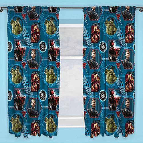 Marvel Avengers Force Vorhänge, 72 Zoll