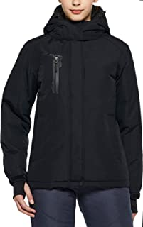 TSLA Women's Windproof Ski Insulated Water-Repel Rip-Stop Snow Jacket/Bottoms (Pants/Overall)