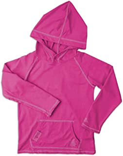UV Skinz Girls Pullover Hoodie, Full Stretch Knit Pique Fabric – UPF 50+ Rating