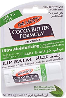 Palmers Dark Chocolate & Mint Lip Balm