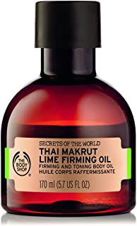 The Body Shop Spa of the World Thai Makrut Lime Firming Oil 170ml - Rich in antioxidants, makrut lime oil is renowned to f...