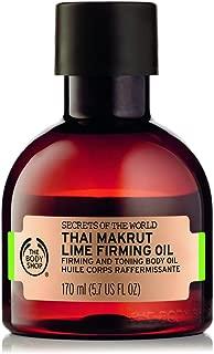 The Body Shop Spa of the World Thai Makrut Lime Firming Oil, 5.7 Fl Oz (Vegan)