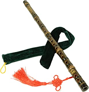 Bamboo Flute, A Flute Musical Instrument, Bamboo Flute Playing, Learning to Use The Flute National Musical Instrument (Color : G Key)