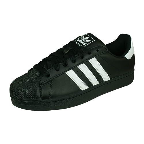 huge discount 82eb6 d551d adidas Men s Superstar Ii Open Back Slippers White