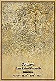 Leinwanddruck, Motiv Deutschland, Solingen