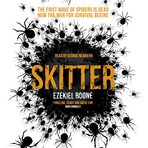 Skitter audiobook cover art