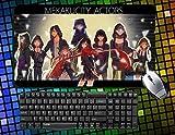 Mekakucity Actors Kagerou Project Large Mouse Pad Ayano Kido Marry Momo 60cmx35cm Anime Mousepad Desk Pad Table Play Mat (21)