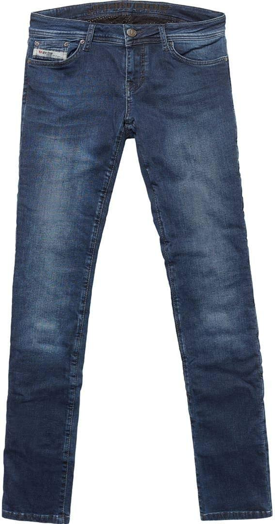 John Doe Betty Vintage Slim Damen Jeanshose 34 Indigo L34 Bekleidung