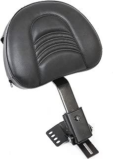 AUFER Adjustable Plug-in Driver Rider Backrest Custom Made for 1997-2019 Touring Models Road King/Street Glide/Road Glide/Electra Glide