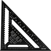 12 inch Aluminiumlegierung Dreieck Herrscher Quadrat Winkelmesser Hohe Präzision Messwerkzeug für Ingenieur Tischler