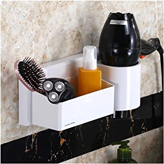 YF-SURINA Étagère de rangement pour étagère de panier de douche avec auto-adhésif facile à installer panier de support de ...
