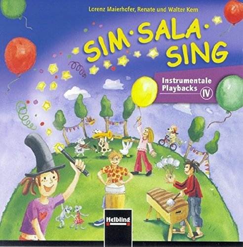 Sim Sala Sing. AudioCD: Instrumentale Playbacks. CD 4 (Sim Sala Sing / Instrumentale Playbacks)